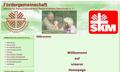 Bild der Startseite der Fördergemeinschaft SKF/SKM Völklingen