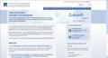 Bild der Startseites des Zentralen Vorsorgeregister